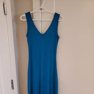 ‼️SALE‼️DYNAMITE BLUE MAXI DRESS
